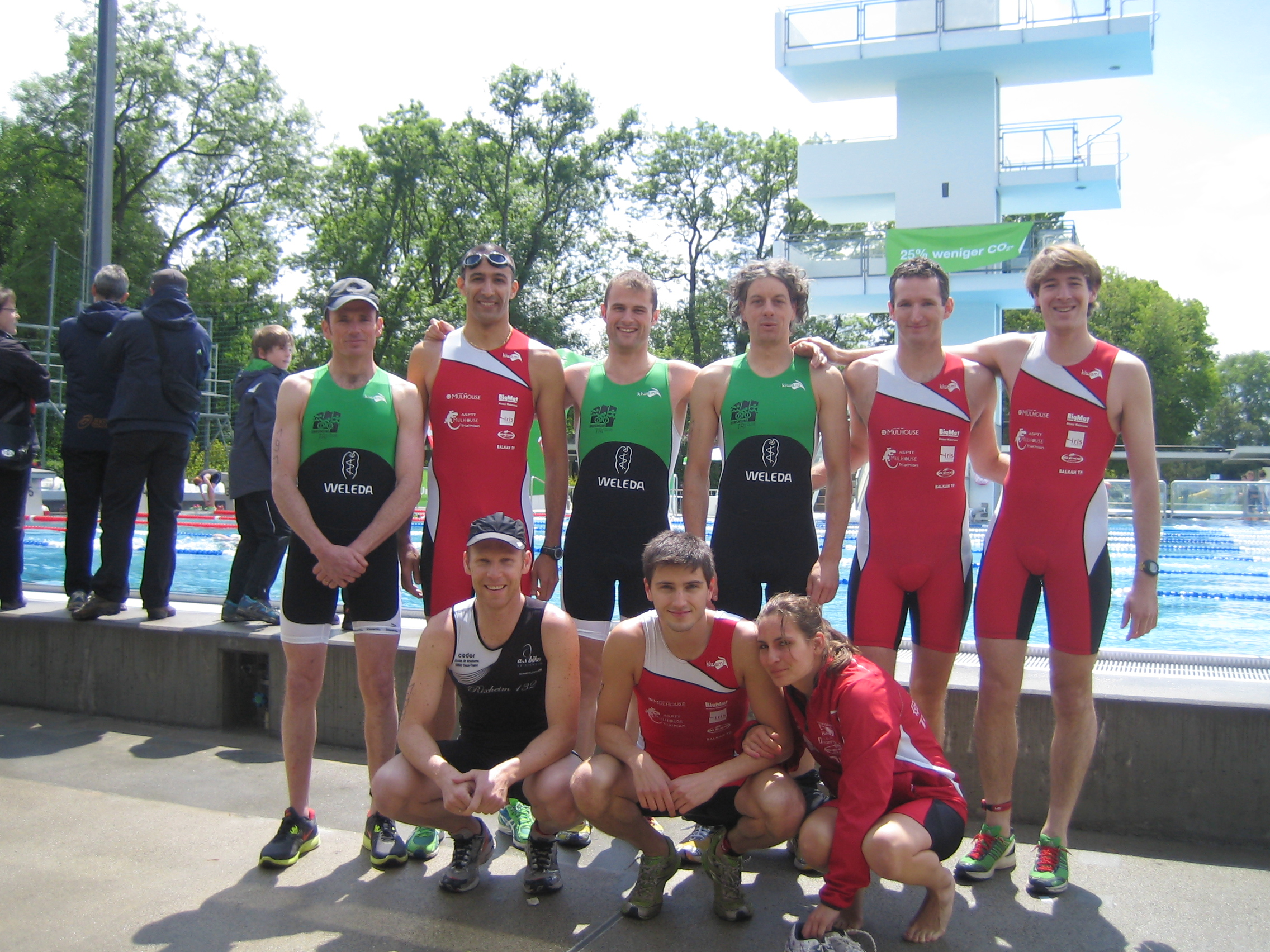 Aquathlon de Bâle 2013
