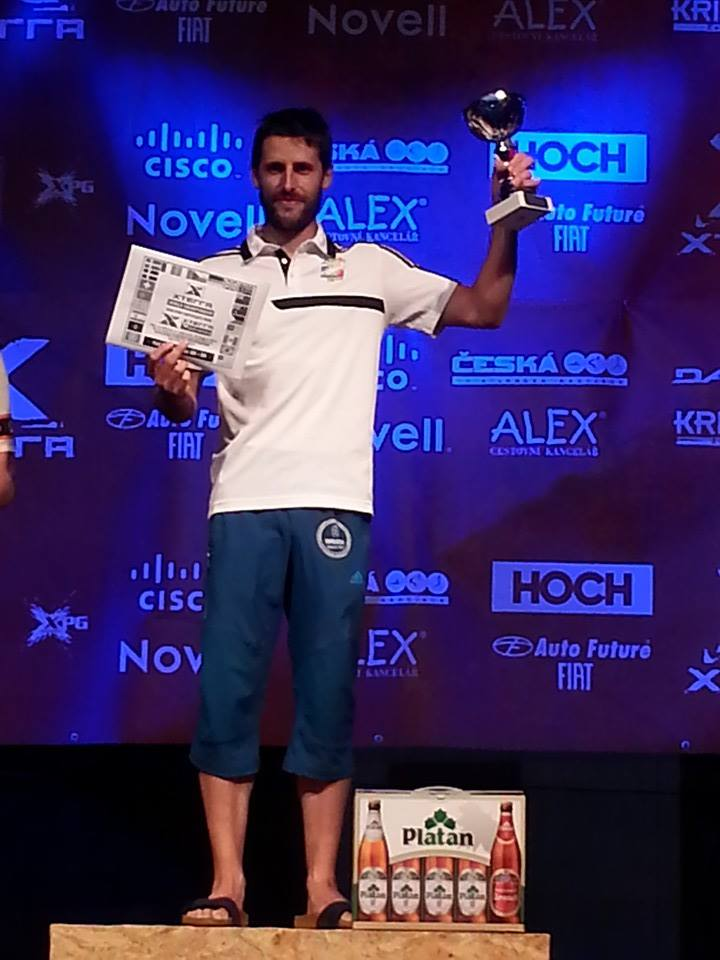 Podium XTerra Czech 2014