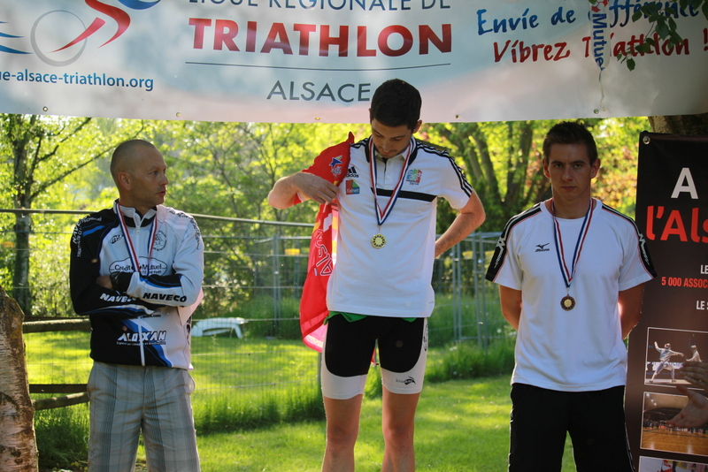Aquathlon de Mulhouse 2015