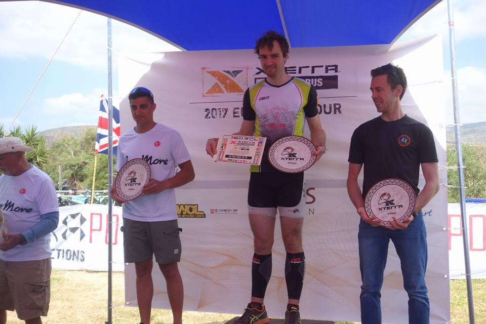 XTerra Chypre 2017 podium